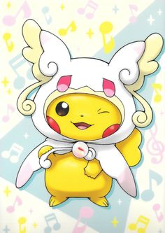 Pikachu as Mega Audino Mega Pokemon, Pokemon Memes, Pokemon Fan Art, Cool Pokemon, Pokemon Fusion, Pokemon Cards, Pokemon Tattoo, Pokemon Funny, Pikachu Pikachu