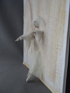 Ghost Walking Through Wall 1 12 Haunted Dollhouse Miniature OOAK Pat Benedict | eBay