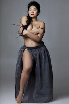 Beautiful Russian model Flora Kim