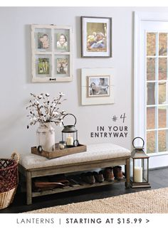 In your entryway