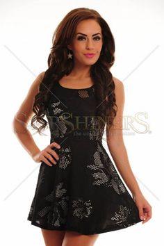 Appealing Style Black Dress