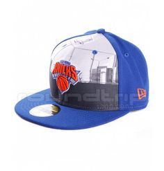 Gorra New Era Round Dway New York Knicks 59FIFTY turquesa 27119da8090