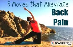 Banish back pain--and prevent it in the future--with these yoga and Pilates exercises. via @SparkPeople