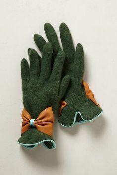 bow bracelet gloves