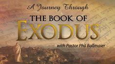 "Exodus 19:9-20:5 Pastor Phil Ballmaier Book of Exodus 5-11-16 Calvary Chapel Elk Grove Join us as Pastor Phil continues in the Book of Exodus.  The Book of Genesis ended with the death of Joseph in Egypt but not before he made the children of Israel promise that when God delivered them out of Egypt, they would take his bones with them into the Promised Land. The Book of Exodus is the continuation of the Book of Genesis which is why the Hebrew text begins with the word ""And""."