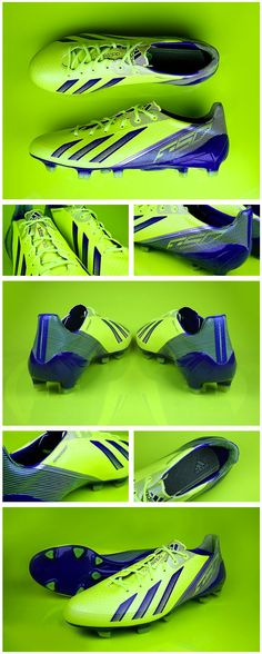 Stunning! The new Electricity @adidas F50 #adizero.