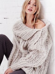 Mes Demoiselles Paris Chunky Solid Pullover at Free People Clothing Boutique