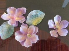 wafer paper flower | Molded wafer paper flowers