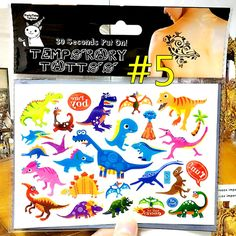 Cute Jurassic Dinosaurs Child Temporary Tattoo Body Art Flash Tattoo Stickers 17*10cm Waterproof Tatoo Car Styling Wall Sticker-in Temporary Tattoos from Health & Beauty on Aliexpress.com | Alibaba Group