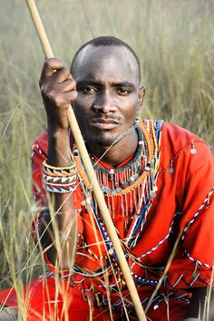 Masai Warrior by David Lazar