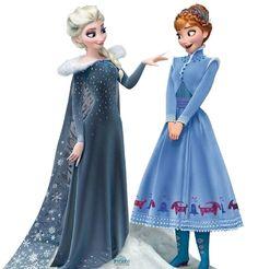 Frozen Olaf's Christmas Adventure Frozen Disney, Olaf Frozen, Frozen Love, Frozen Elsa And Anna, Elsa Anna, Moda Disney, Frozen Pictures, Frozen Images, Disney Girls