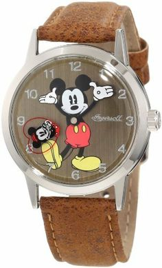 Ingersoll Women's IND 26093 Ingersoll Disney Classic Time Looking for Mickey Watch Ingersoll. $53.32. 3 hand quartz. Quartz movement. Polished finish metal case. Mickey mouse image on dial. Arabic numerals