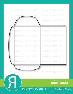 Reverse Confetti - Mini Envie Confetti Cuts. Jan 2015 release. Coordinates with Big Notes stamp set.