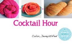 Learn how to use color together! Part of an easy to understand series on Color Theory that you can use in fashion, crafting, and decorating.