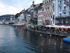 Lucerne - Switzerland ( Starbucks in Switzerland!!!)  Yeah!!!