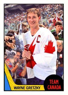 Hockey Games, Ice Hockey, Canada Cup, Hockey World, Wayne Gretzky, Canadian History, Edmonton Oilers, Nfl Fans, National Hockey League