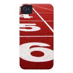 Running track iPhone 4 case
