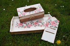 sztuka decoupage: Komplet z różami oraz kartki na zakończenie roku s...