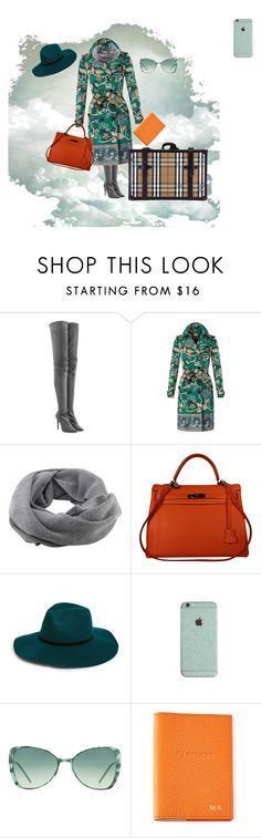 """Travelling!"" by sandra-moreno-2 on Polyvore featuring Tamara Mellon, Burberry, Coal, Hermès, BP., Italia Independent, women's clothing, women's fashion, women and female"
