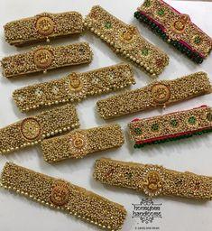 Saree Kuchu Designs, Wedding Saree Blouse Designs, Silk Saree Blouse Designs, Saree With Belt, Saree Belt, Blouse Designs Catalogue, Stylish Blouse Design, Designer Blouse Patterns, Bridal Jewelry Sets