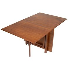 minimalist look wooden table frame folding dining table for