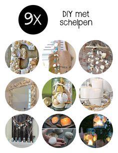 Ben jij ook een enthousiaste schelpenverzamelaar? Speciaal voor jou zochten we negen originele ideeën voor DIY met schelpen.