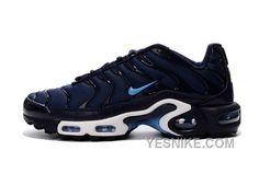73eae96dcd5d Nike Air Max Plus TN Midnight Navy Black University Blue Mens Running Shoes  Nike Air Max