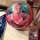 Michael Jordan Lithograph Wilson Pro Staff Basketball - basketball, Jordan, lithograph, MICHAEL, Staff, WILSON