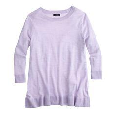 Lightweight merino tunic sweater