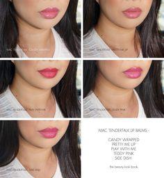 The Beauty Look Book: MAC Tendertalk Lip Balm Review