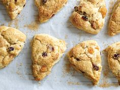Apricot, Cranberry, and Almond Whipped Cream Scones