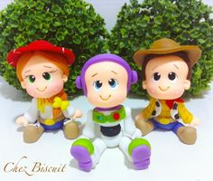 Apliques Toy story de biscuit, toy story in clay,cold porcelain, porcelana fria, festa Toy Story Cumple Toy Story, Festa Toy Story, Toy Story Baby, Toy Story 3, Crafts For 3 Year Olds, Crafts For Seniors, Toy Story Birthday Cake, Octopus Crafts, Toy Story Crafts
