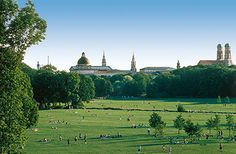 Not  really a garden as such but Europe's biggest Municipal Park. With sights to explore such as the Greek Temple, Chinese Pagoda, Japanese Tea House, a river and lake, endless cycle paths and a great selection of Beer gardens- why would you not pay a visit?