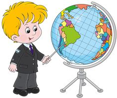 Schoolboy and globe vector image on VectorStock School Boy, First Day Of School, Learn To Sketch, World Icon, Globe Vector, School Clipart, Illustrations, Drawing For Kids, Kids Cards