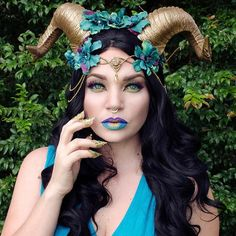 Halloween, here we come. A @frecklesfairychest headdress creates endless character possibilities. Explore their world at link in bio. #etsy