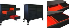 classically inspired drawers with a twist!