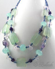 51756263 Collar de Piedras, Quarzo, Cristal c/Plata 925, (En oferta) | Bellash