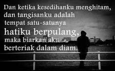 Hatiku berpulang.. Berteriak dalam diam  #NasihatDiri #Motivasi #inspirasi