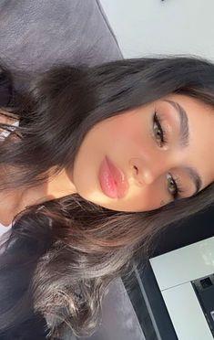 Skin Makeup, Beauty Makeup, Hair Beauty, Cute Makeup, Makeup Looks, Adriana Lima Lingerie, Girls With Black Hair, Ariana Grande Photoshoot, Bad Girl Aesthetic