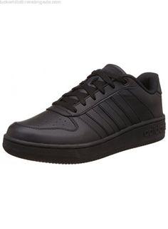 buy online a5d3a 04e8f adidas NEO Men s Team Court Low-Top Sneakers Shoes Black (Core Black Core  Black Core Black) AW4510