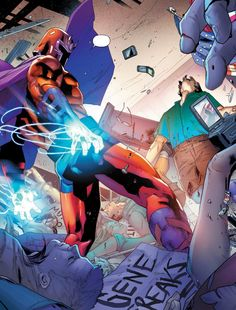 Magneto: Not a Hero #1 - Clay Mann