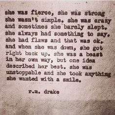 R m Drake: beautiful quote Great Quotes, Quotes To Live By, Me Quotes, Inspirational Quotes, Drake Quotes, Find Quotes, Quotable Quotes, Random Quotes, People Quotes