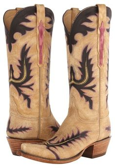Lucchese boots.