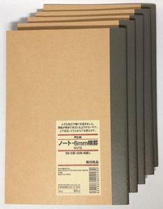 MUJI Notebook B6 6mm Rule 30sheets - Pack of 5books MUJI http://www.amazon.com/dp/B00IQV1DCE/ref=cm_sw_r_pi_dp_9oQiwb0MA4FXQ
