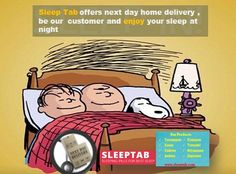 #Sleeptab offers #next day home #delivery , be our  customer and enjoy your sleep at night