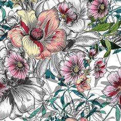 My new floral pattern design available now on #patternbank Seamless Floral Pattern for Fashion Designers, Wallpapers, Interiors and Accessories.  #newonpatternbank #patterns #ss18 #print #creative #patterndesigner #fabricpattern #patternmaking #design #flowers #textile #collection #tagsforlikes #art #floral #instafashion #wearepremierevision #premierevision #watercolor #fashionblogger #londontextilefair #illustration #printdesign #textilede...
