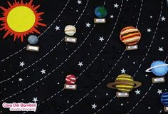 Montessori Solar System Board jouets Montessori Montessori | Etsy Solar System Projects For Kids, Solar System Crafts, Our Solar System, Montessori Toddler, Montessori Toys, Toddler Activities, Solaire Diy, Handmade Crafts, Handmade Items