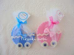 ♥ Tiryaki Hobi ♥: Keçe bebek şekeri / magnet - dolgusuz puset
