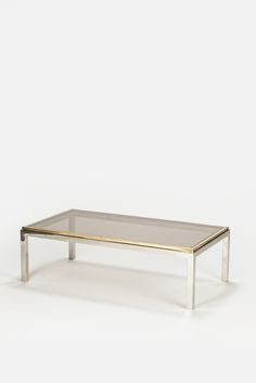 Willy Rizzo Flaminia Coffee Table 70's