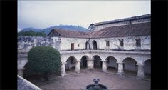 Cloister, Convent of Las Capuchinas, ca. 1730. Antigua, Guatemala. Photograph by Barbara E. Mundy. Brought to you by Vistas: Visual Culture in Spanish America, 1520-1820, a website devoted to the art history and architecture of Latin America during the Spanish Colonial period.